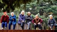 Bis zum Jahr 2030 wird sich die Zahl der Über-Sechzigjährigen in China verdoppeln