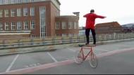 Fahrrad-Ballett statt Fahrradtour