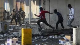 Tote und mehr als 50 Verletzte bei Protesten