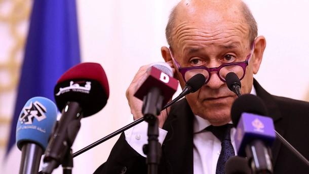 Paris ruft Botschafter aus USA und Australien zurück