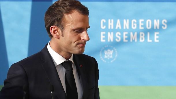 Macron plant Ansprache