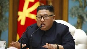 """Trump nennt Bericht über Kims Gesundheitszustand """"inkorrekt"""""""