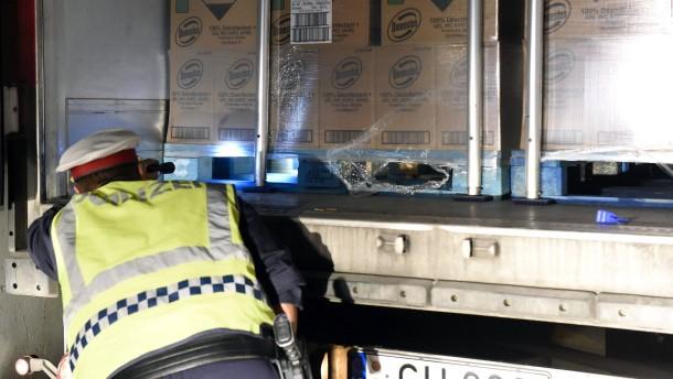 Grenzkontrollen verteuern Transporte