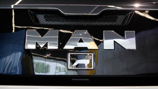 Volkswagen baut in seiner Lastwagen-Allianz auf MAN