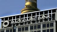 Die Zentrale der Macquarie Bank in Sydney