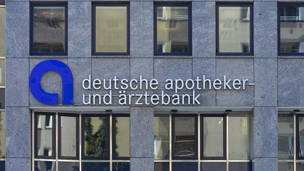 Fragen Sie die Bank des Arztes oder Apothekers!