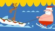 Südadrika an Weihnachten: Es gibt Christmas Pudding als Eistorte, Biltong-Trockenfleisch wird in Salate gemischt und der Maismehlbrei Pap als Beilage gereicht.