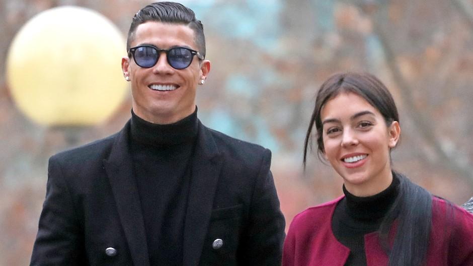 Prinz und Aschenbrödel? Cristiano Ronaldo, Georgina Rodriguez