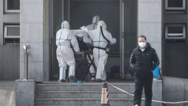 Sprunghafter Anstieg der Infektionen in China
