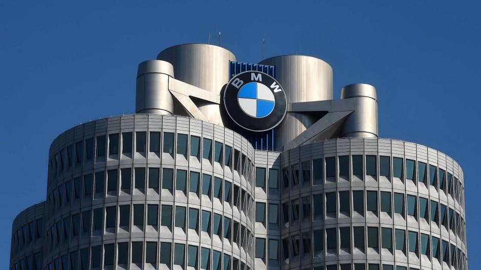 Die Firmenzentrale von BMW in München