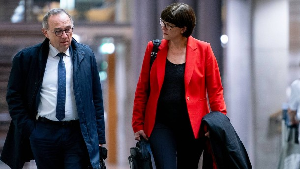 Lockeres Kennenlernen mit der neuen SPD-Spitze