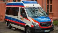 Macht Träume wahr: der umgebaute Krankenwagen des ASB