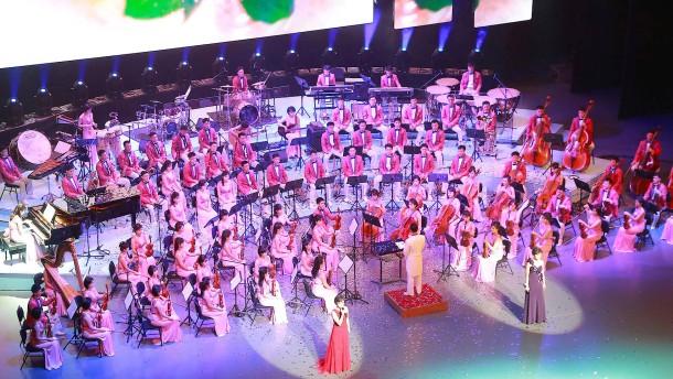 Nordkoreanisches Orchester bricht ein Tabu