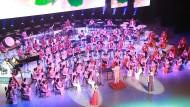 Versöhnliche Klänge: das Samjiyon-Orchester in Südkorea.
