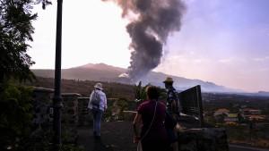 Vulkanausbruch - Anzeichen für Entspannung