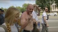 """""""Diese Leute wollen Gewalt"""": Mit Neonazis durch Charlottesville (Videostandbild)"""