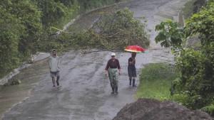 """Hurrikan """"Nate"""" erreicht amerikanische Golfküste"""