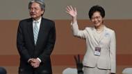 Peking-treue Kandidatin zur Regierungschefin gewählt