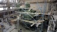 Großer Wladimir: Ein Modell des Denkmals, das Moskau bald schmücken wird.