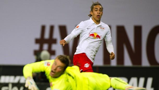 Leipzig zerschießt Düsseldorfs Aufstiegsträume