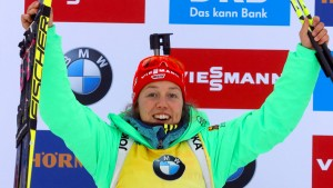 Dahlmeier holt ihren zehnten Weltcupsieg