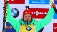 Dahlmeier holt zehnten Weltcupsieg