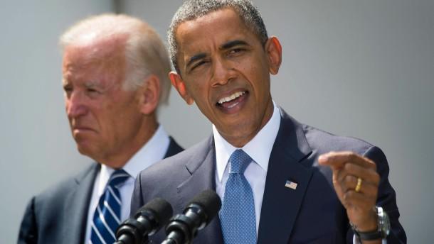 Der US-Präsident erklärt sein Vorgehen im Syrien-Konflikt.