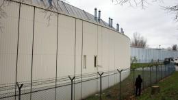 Vier Häftlinge auf der Flucht