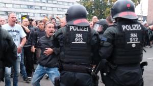 Polizei war nicht auf so viele Demonstranten vorbereitet
