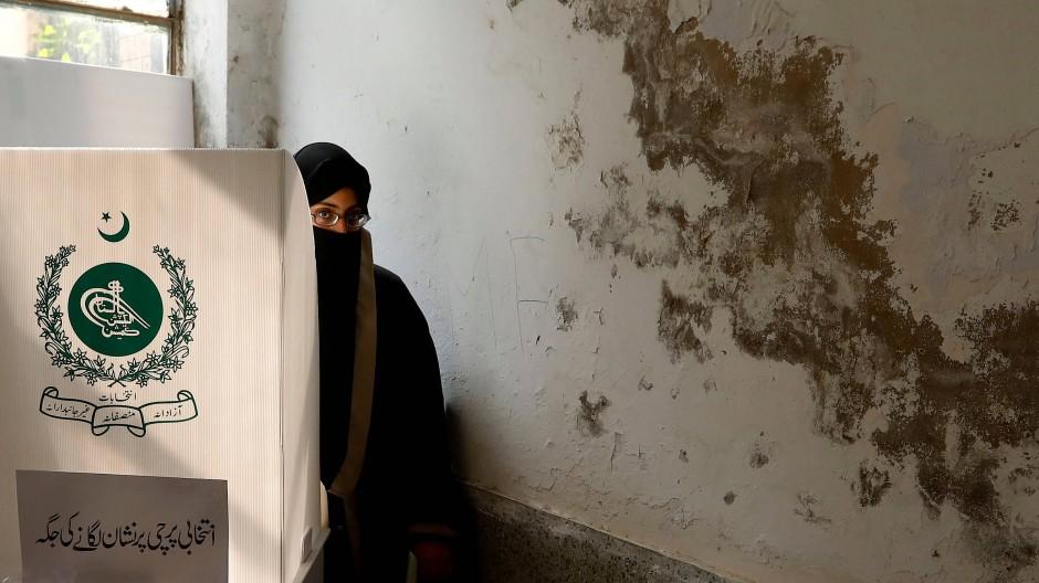 Parlamentswahl in Pakistan