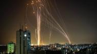 Raketen aus Gaza am 11. Mai