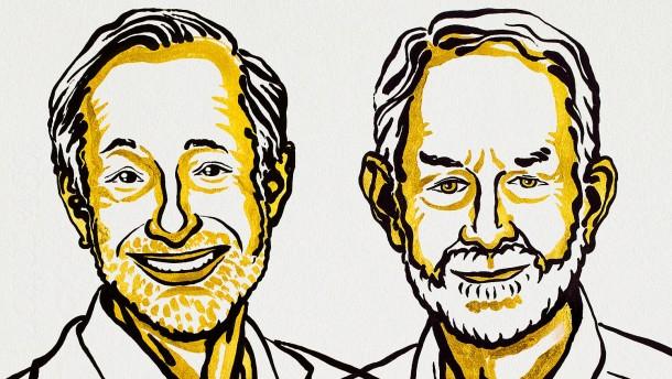 Wirtschaftsnobelpreis geht an Paul R. Milgrom und Robert B. Wilson