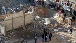 Zwei Tote im Gazastreifen nach Raketenangriff