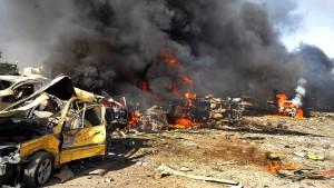 Dutzende Tote bei Anschlägen in Damaskus