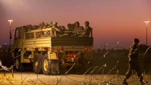 Amerika schickt 3750 weitere Soldaten an die Grenze