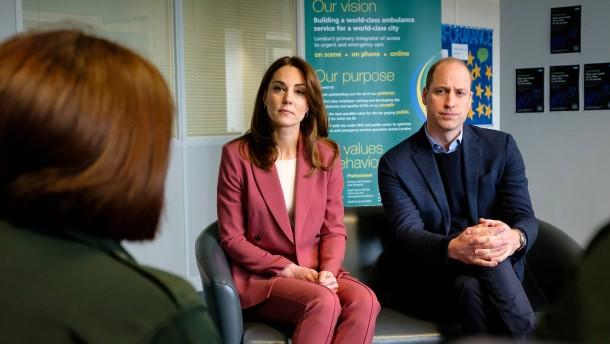 Prinz William und Kate telefonieren mit Klinik-Mitarbeitern