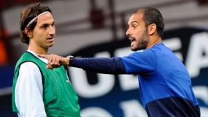 Ibrahimovic beleidigt Guardiola