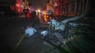 Der Wirbelsturm hat in Kubas Hauptstadt großen Schaden angerichtet.