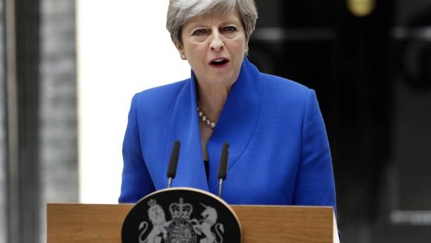 May verkündet grundsätzliche Einigung mit DUP
