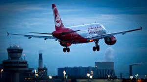 Flugzeug ohne Sprit