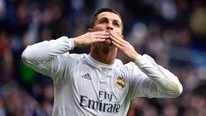 Ronaldo schießt sich den Frust von der Seele
