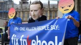 Facebook kämpft wie noch nie gegen Falschmeldungen