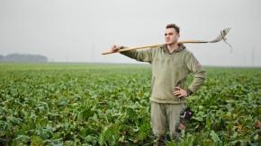 Benjamin Lind - Der Frankfurter Landwirt erklärt, warum er Bauer geworden ist, obwohl er nicht aus einer Bauernfamilie kommt.