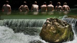 Der Traum vom Baden im Fluss