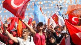 Türkische Wirtschaft im ersten Quartal kräftig gewachsen