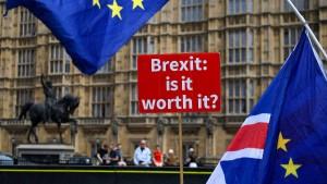 112 Brexit-Wahlkreise wollen doch lieber bleiben
