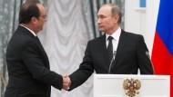 Hollande sichert sich Moskaus Unterstützung