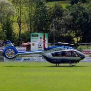 Die Polizei suchte mit einem Großaufgebot und Hubschraubern nach dem 31-Jährigen.