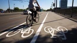 Die ersten 3,5 Kilometer Radschnellweg