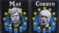 Suchen nach einer Lösung: Theresa May und Jeremy Corbyn